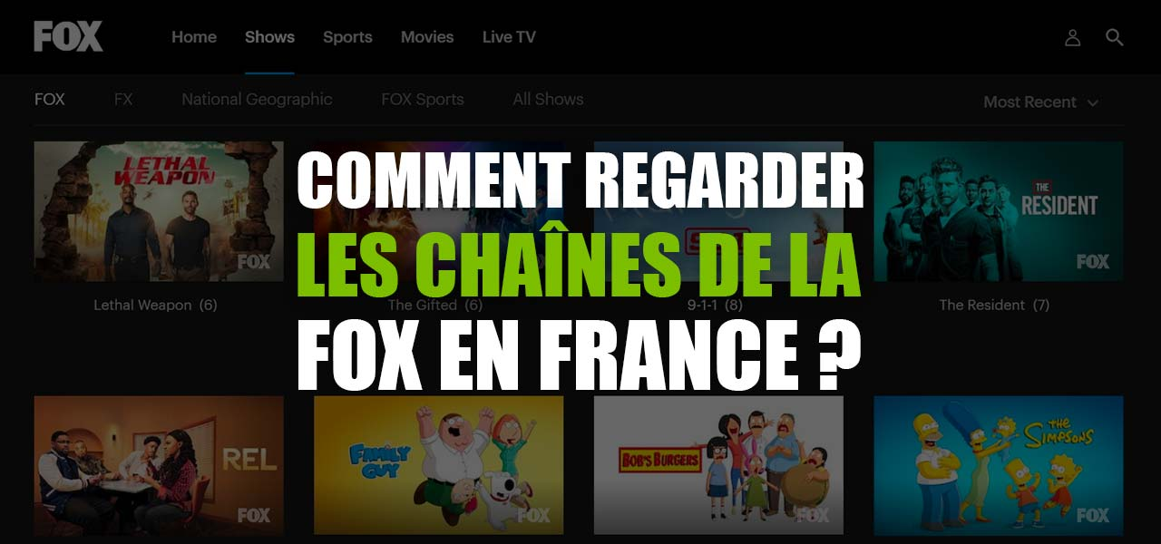 regarder fox tv direct en france